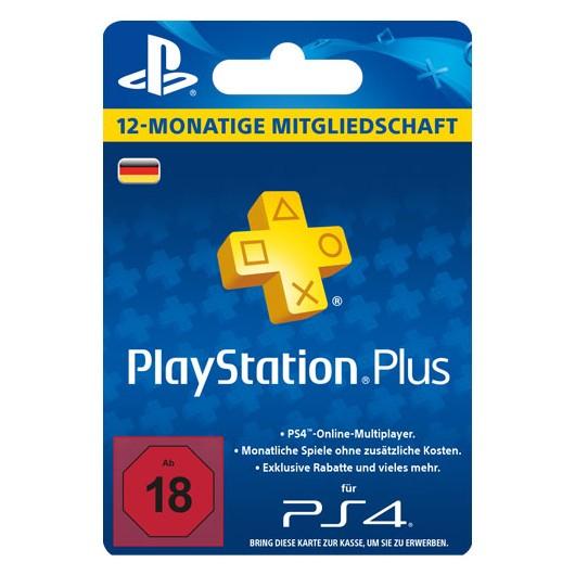 Playstation Plus für 365 Tage nur 50€