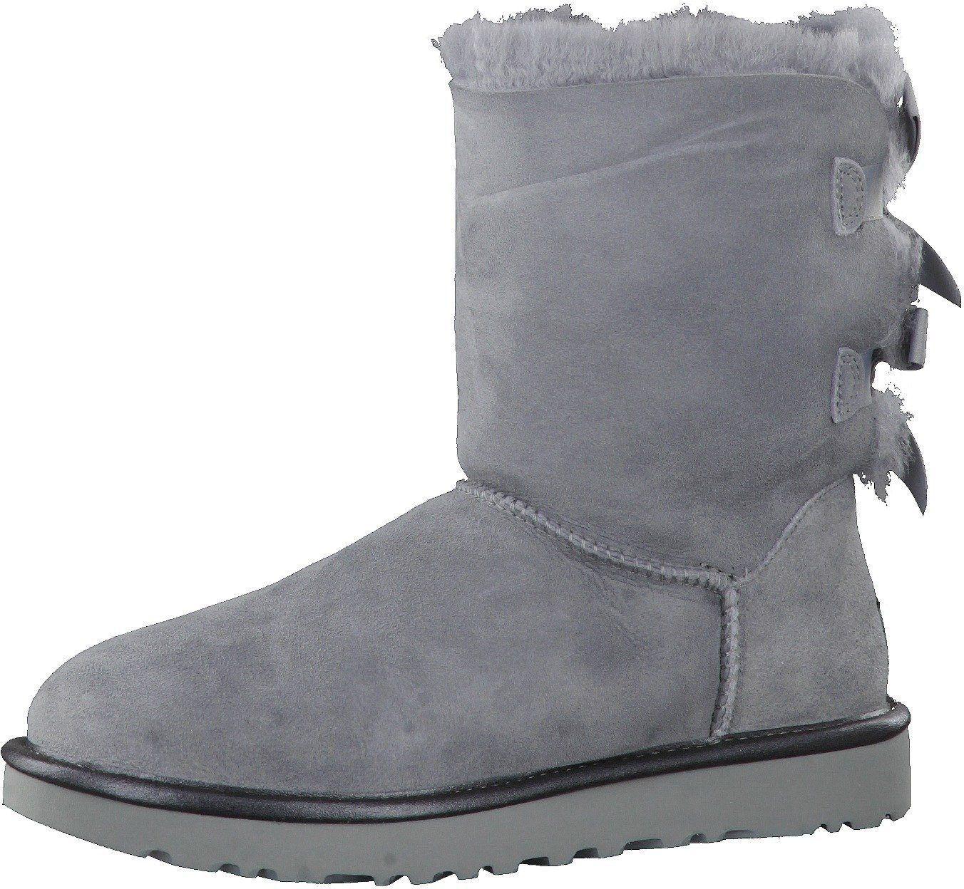 Ugg Boots Bailey Bow II Metallic grau