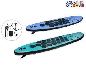 Aquaparx aufblasbares Stand-Up-Board SUP 305 Stand-Up-Paddleboard bei iBOOD