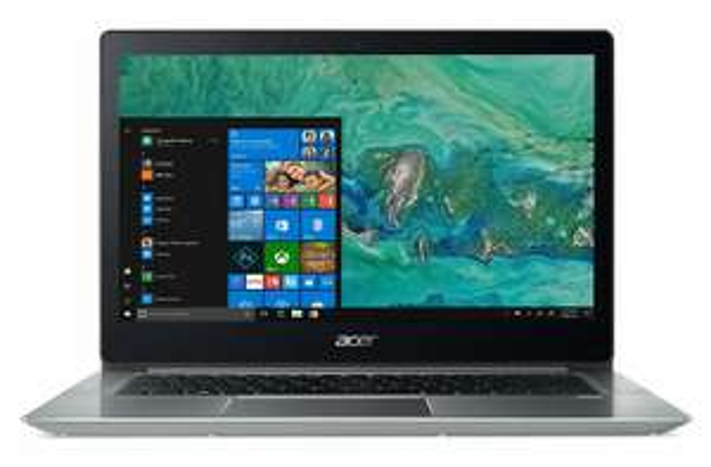 """Notebook 14"""" Acer Swift 3 SF314-52 - QWERTY-Tastatur, Full HD IPS, i3-7130U, RAM 4 GB, SSD PCIe 256 GB, beleuchtete Tastatur, Fingerprint-Reader, Windows 10 (Amazon.it)"""
