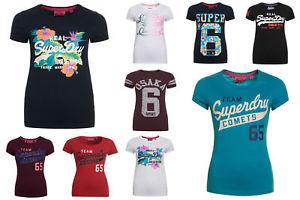 Superdry T-shirts für Damen in verschiedenen Modelle und Farben