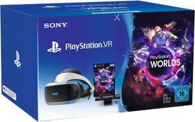 Sony PlayStation VRV2 + PlayStation Kamera + PlayStation VR Worlds (Real)