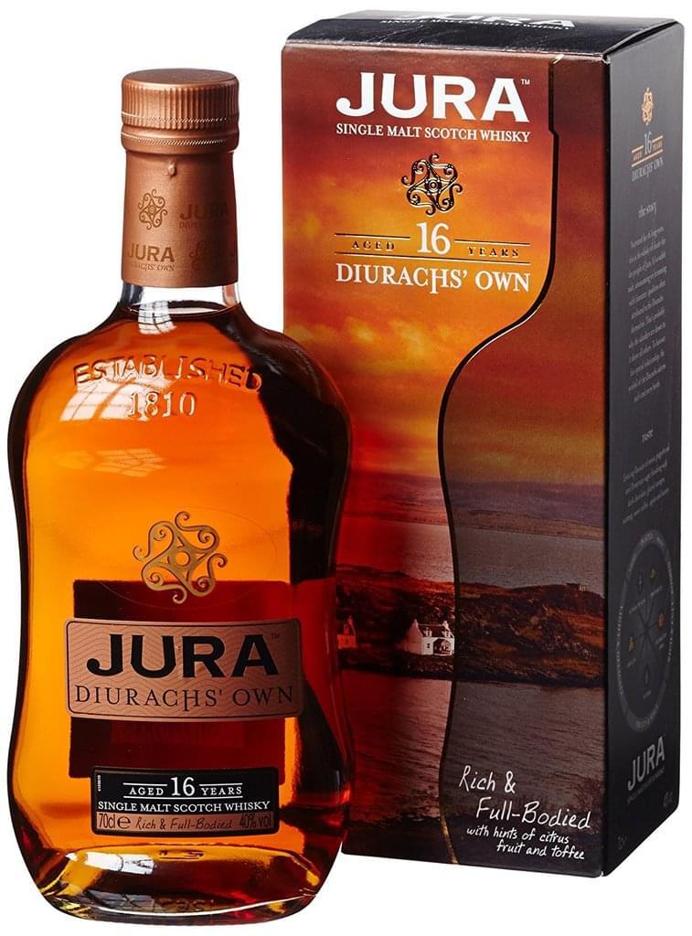 [REAL] Single Malt: Isle of Jura Diurachs' Own 16 Jahre 0,7l