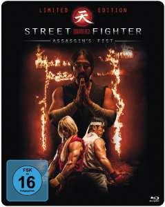 Street Fighter - Assassin's Fist Limited Edition Steelbook (Blu-ray) für 4,99€ bzw 4,49€ (Müller)