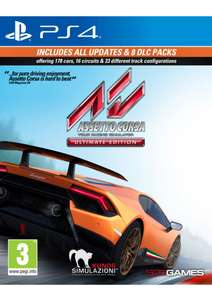 Assetto Corsa: Ultimate Edition (PS4) für 25,50€ (SimplyGames)