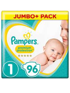 Pampers Premium Protection Newborn - Größe 1 (2-5kg) 96 Windeln
