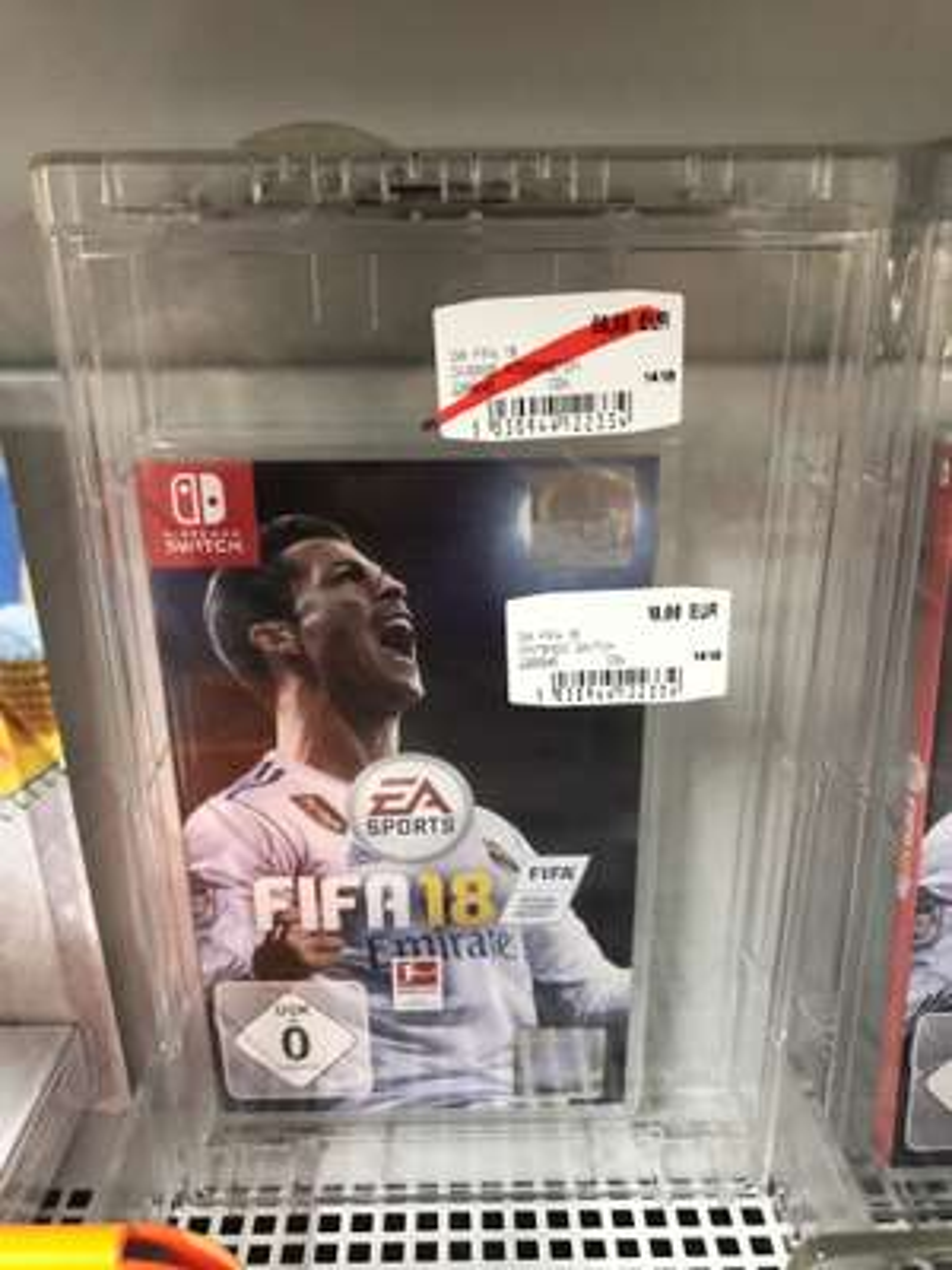 (Media Markt Nova Eventis) FIFA 18 Nintendo Switch