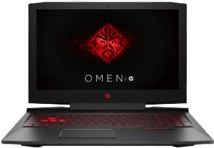 HP Omen Gaming Notebook mit 15.6 Zoll Display, Core™ i5 Prozessor, 8 GB RAM, 256 GB SSD, 1 TB HDD, GeForce GTX 1050, Schwarz