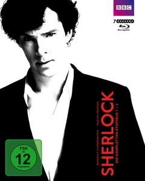 Sherlock - Staffel 1-3 [7 Blu-Rays]