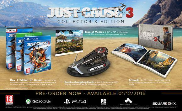 Just Cause 3 Collectors Edition für Xbox One