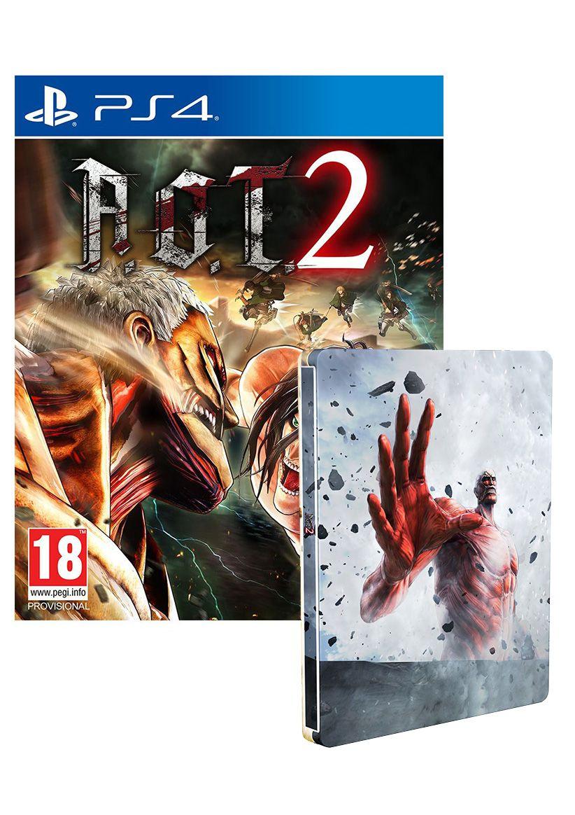 Attack on Titan 2 - Steelbook Edition (PS4) für 31,21€ (Simplygames)