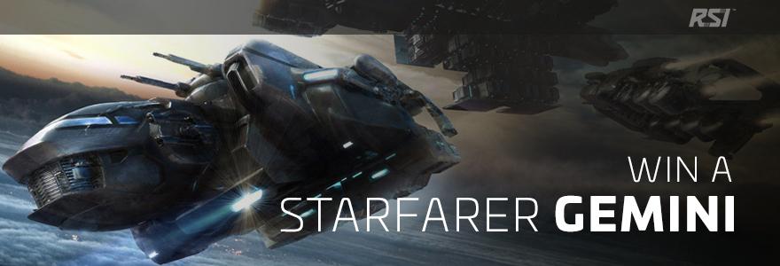 Star Citizen, 1500UEC extra Cash beim Akzeptieren der neuen GDPR (EU Datenschutzgesetz) + zusätzliche Teilnahme an einen Gewinnspiel (1x Starfarer Gemini)