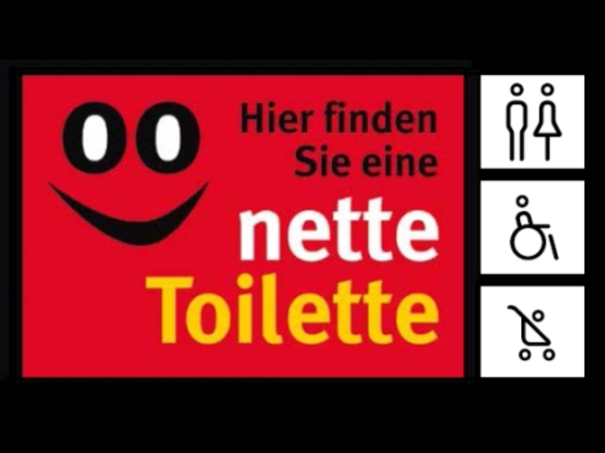 (Die nette Toilette) kostenlose WC-Nutzung bei Handel und Gastronomie