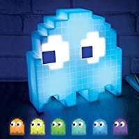 Farbwechselnde PAC-MAN Geister-Lampe für 13,83€ (Amazon.co.uk)