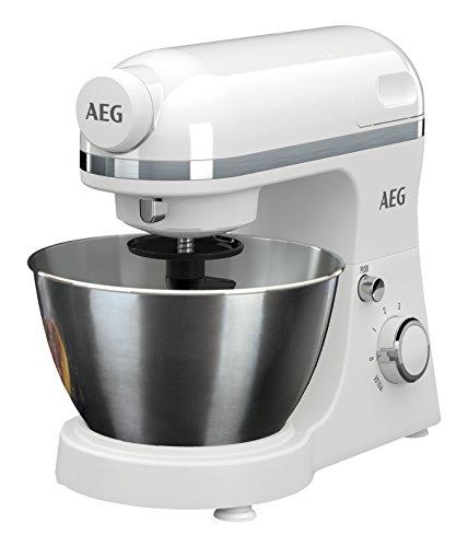 AEG Küchenmaschine 3Series KM3200 inkl. Standmixer-Aufsatz
