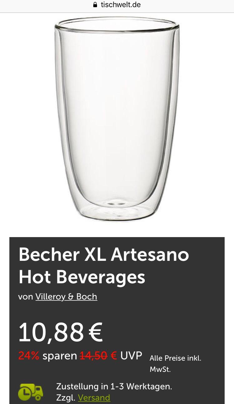 Villeroy & Boch XL Becher für Kaffee/Tee