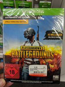 [Lokal Media Markt Kassel] Playerunknown's Battlegrounds Xbox One PUBG