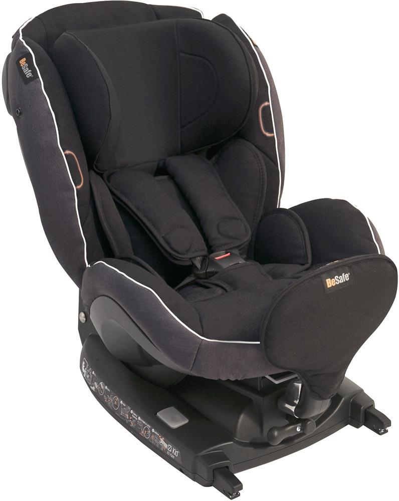 BeSafe iZi Kid X2 i-Size - Kindersitz (Reboarder Stiftung Warentest 1,8 - Sicherheit 1,1)