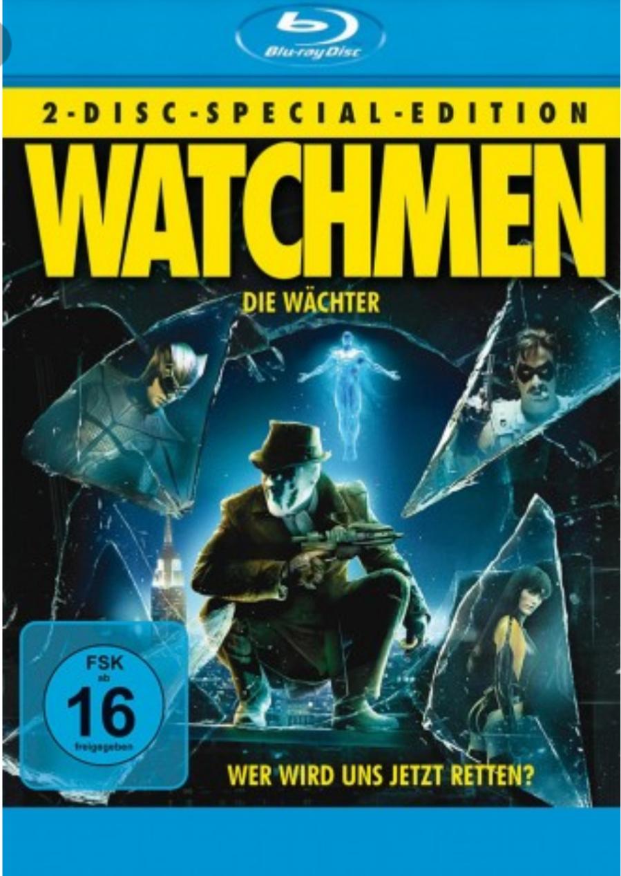 Watchmen - Die Wächter [Blu-ray] [Special Edition] für 4,70€ @Dodax