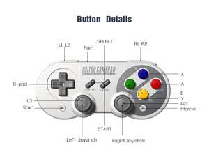 8Bitdo SF30 Pro Bluetooth Controller (Zapalstyles, China)