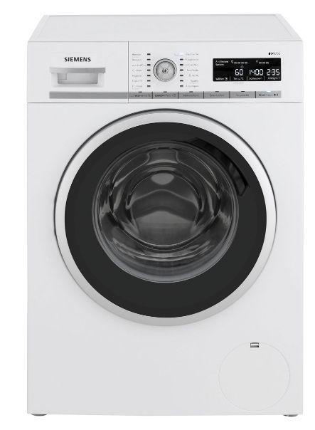 [ao] Siemens iQ700 WM14W5A1 Waschmaschine 8 kg, 1400 U/Min, A+++, inklusive Lieferung an Aufstellort