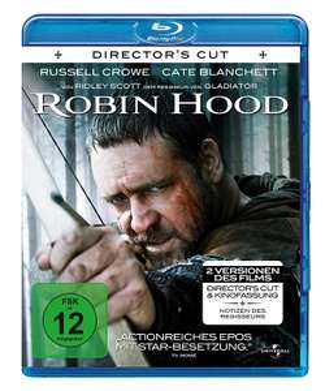 Robin Hood Director`s Cut & Original-Kinofassung (Blu-ray) für 3,70€ (Dodax)
