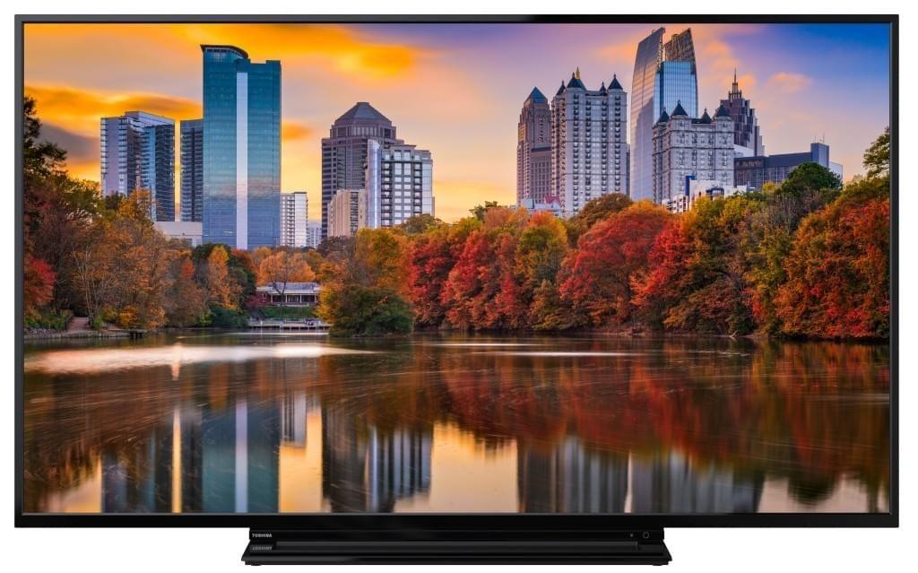 Toshiba 55V5863DA 140 cm (55 Zoll) Fernseher (4K Ultra HD,HDR Dolby Vision, Triple Tuner, Smart TV
