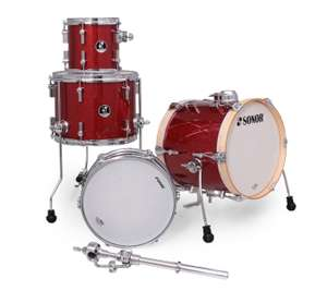 Sonor Martini Shell Set Red Galaxy Sparkle