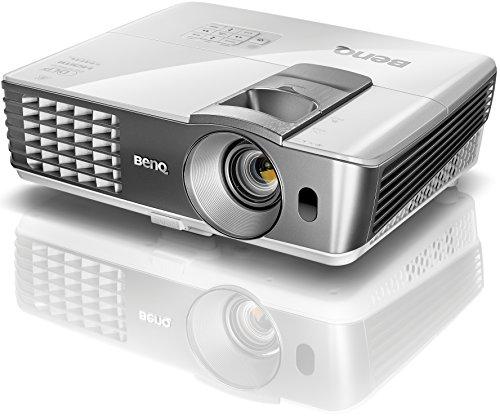 BenQ W1070+ 3D Heimkino DLP-Projektor (Full HD 1920x1080 Pixel, 2.200 ANSI Lumen, Kontrast 10.000:1, 2x HDMI, MHL, vertikal Lens-Shift) weiß
