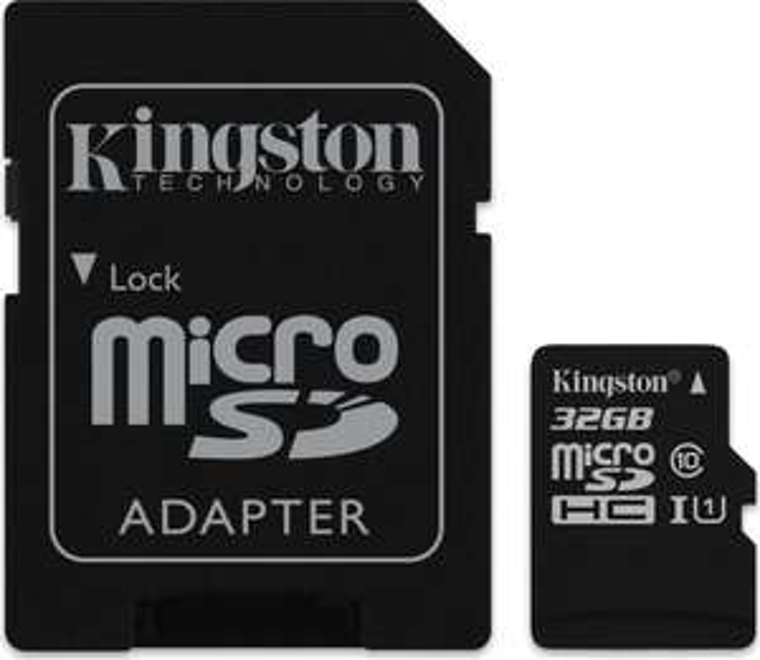 Kingston Canvas Select microSD mit 32GB Class 10 / U1 für 9,20€ [Mymemory]
