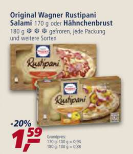 [Ab 28.05] [Real,-/Coupon] 3x Wagner Rustipani für 3,77€