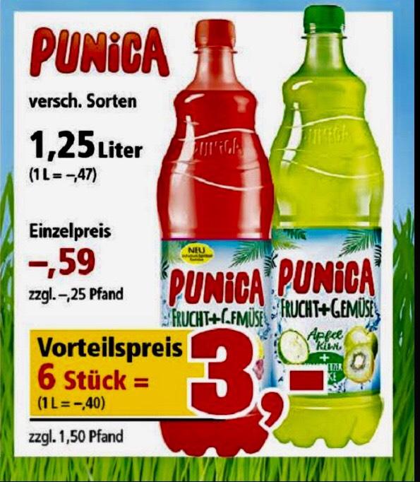 6 x Punica gratis durch Einkaufsgutschein @ Thomas Philipps