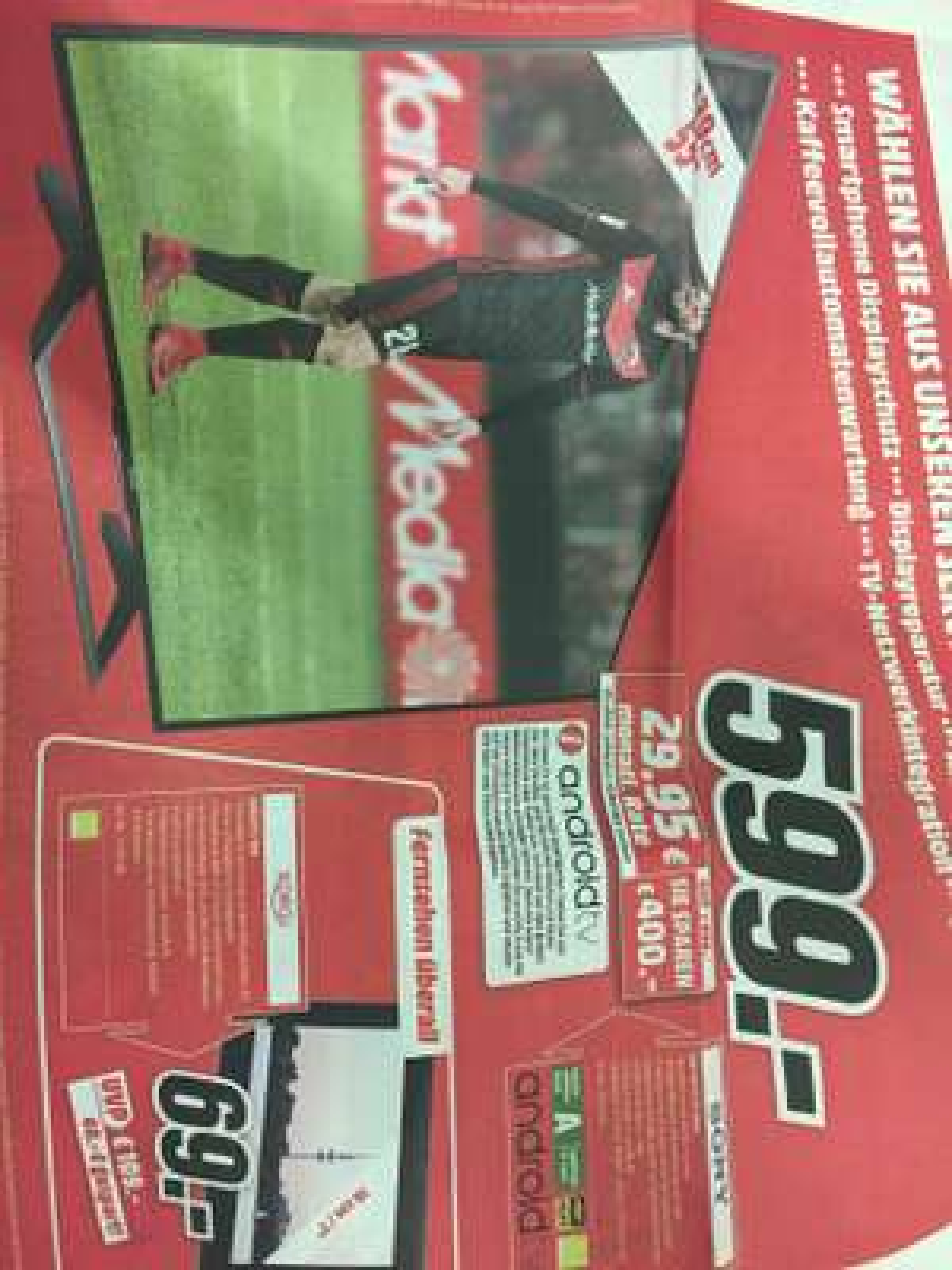 Sony KD 55 XE 8096 Lokal Media Markt Dortmund 599€