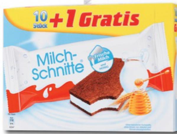 Kaufland Berlin Milchschnitte 10+1 für 1,19 Euro