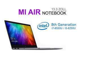 Original Xiaomi Mi Notebook Air 13.3 2018 i7-8550U 8GB/256GB