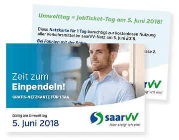 [HEUTE] SaarVV-Ticket für ganz Saarland KOSTENLOS am Weltumwelttag (05.06.2018)