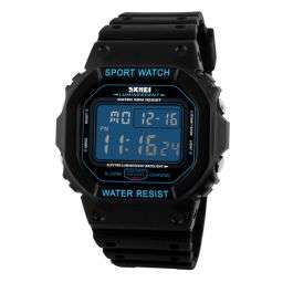 (zapals) SKMEI 1134 Men's Waterproof Sports Digital Watch with Backlit