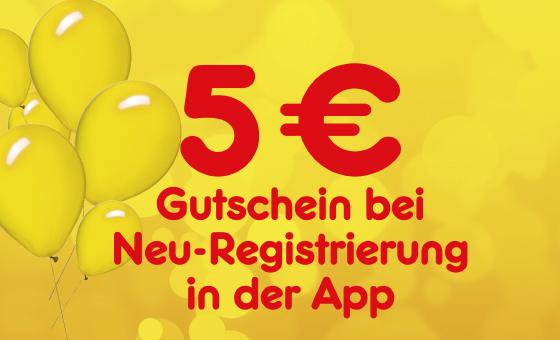 Netto MD-5€ Gutschein bei Neuregistrierung in der App ab 30€ Einkaufswert / Ab 28.5.18
