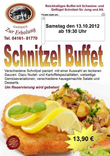Schnitzel Buffet - Schnitzel satt essen!!!