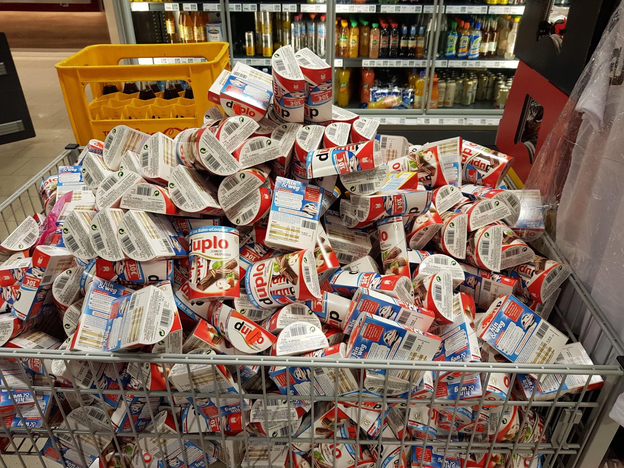 LOKAL Göttingen: Duplo und Kinderriegel 10 Stk. Ausverkauf
