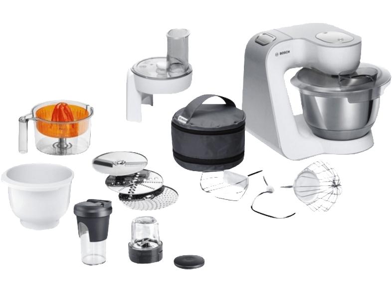 BOSCH MUM58253 Küchenmaschine Weiß für 109€ bei Media Markt