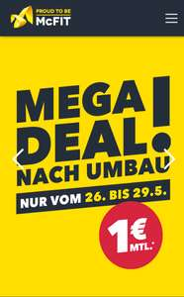 McFIT Mega Deal - LOKAL Aschaffenburg