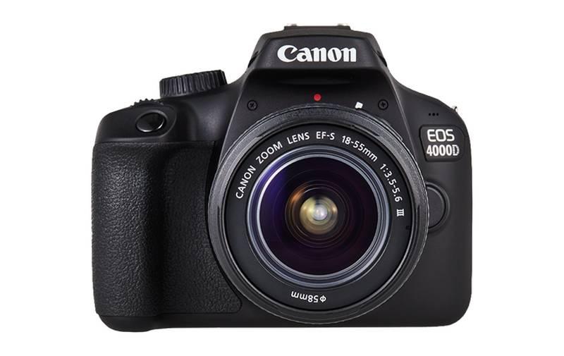 [Grenzgänger FR] Canon EOS 4000D Kit 18-55mm mit Tasche und 16GB Speicherkarte bei Auchan