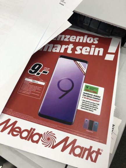 [MEDIAMARKT & SATURN Online & Stationär] md Vodafone/Telekom Flat Allnet Comfort inkl. Samsung Galaxy S9 für 9€