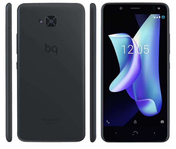 BQ Aquaris U2 - Android Nougat 7.1.2 (Oreo in Entwicklung), Snapdragon 435, 16 GB Speicher, 2 GB RAM, 13 MPX, Dual-SIM Hybridslot, Polycarbonat Gehäuse