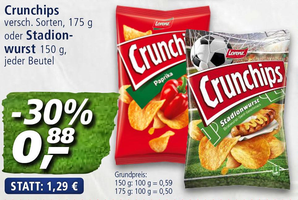 (Real) Lorenz Crunchips nur 88 Cent