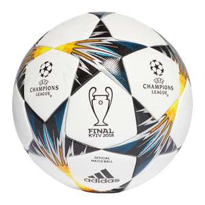 adidas Champions League Final-Spielball (UVP 149,95€) im 10er-Ballpaket für 59,98€ [11teamsports]