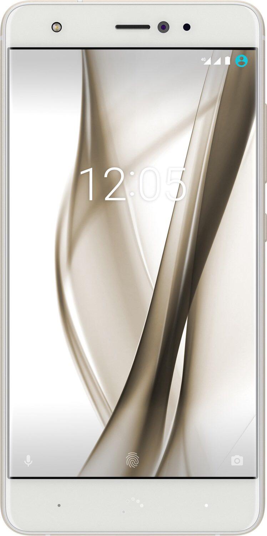 BQ Aquaris X Pro, Smartphone, 64 GB, 5.2 Zoll, Glasur Weiß