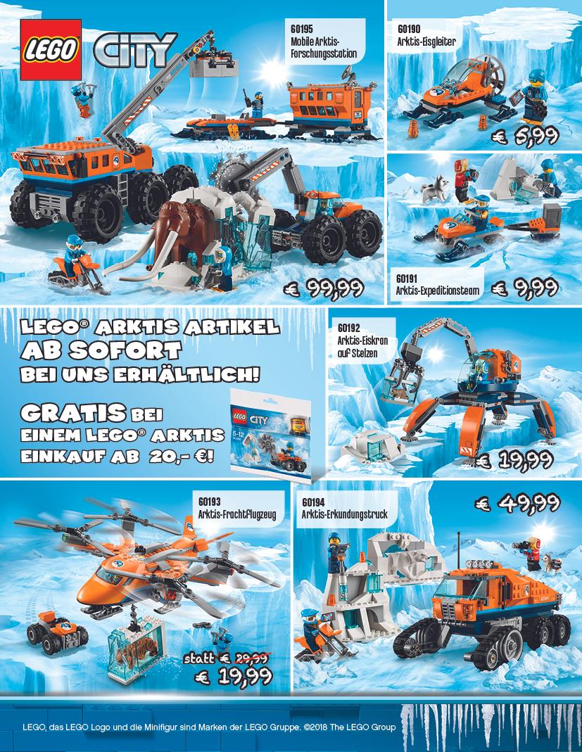 [Knollis] Gratiszugabe Lego-Polybag 30360 ab 20€ Lego-Arktis Einkauf lokal in BS/PE