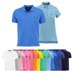 Gant Damen & Herren Poloshirt 100% Baumwolle viele Farben